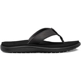 Teva Voya Flip Leather Sandals Women black